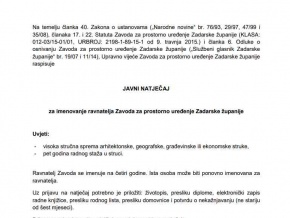 Zavod za prostorno ure enje Zadarske  upanije, Zadar Hrvatska